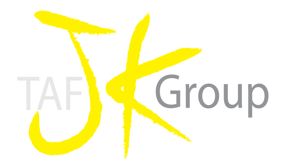 The TAFJKGROUP INC. digital marketing and web development logo.